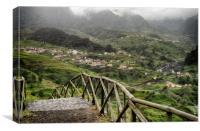 Vale de São Vicente seen from Caminho da Capelinha, Canvas Print