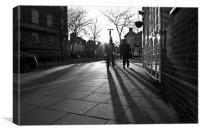 Long Shadows, Canvas Print