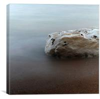 Abstract rock, Canvas Print