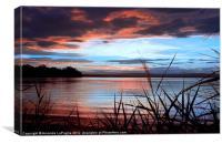Summer Sunset 6, Canvas Print