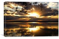 Heavenly Sunset, Canvas Print