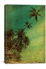 Tropical Vestige, Canvas Print