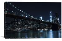 Brooklyn Nights, Canvas Print