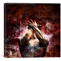 Torment, Canvas Print