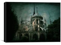 Citadel, Canvas Print