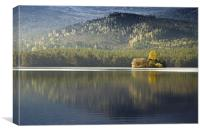 in the Highlands, Canvas Print