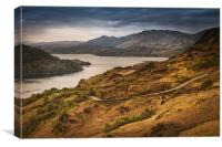 Evening at Loch Duich, Canvas Print