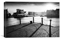 Leith Shore, Canvas Print