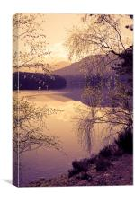 Romantic Scotland, Canvas Print