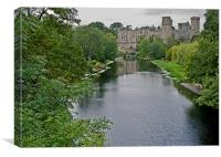 Warwick Castle, Canvas Print