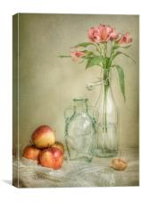 Apples and Lillies still life