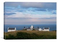 Anvil Point Lighthouse, Swanage, Dorset, Canvas Print