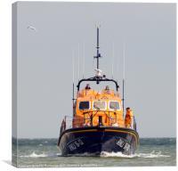 cromer lifeboat, Canvas Print