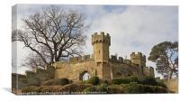 Warwick Castle Keep, Canvas Print