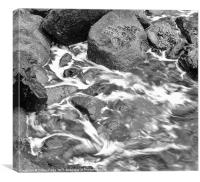 Marble Water, Canvas Print