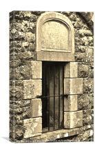 Cellar Window, Canvas Print