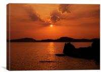 Phu Quoc Sunset, Canvas Print