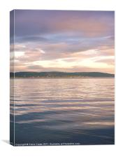 Belfast Lough at Dusk, Canvas Print