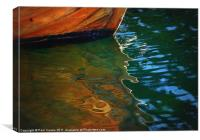 Wooden Reflections I, Canvas Print