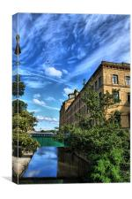 near salts mill saltaire west yorkshire