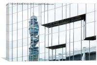 BT Tower, London, Canvas Print