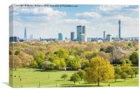 London Skyline, Canvas Print