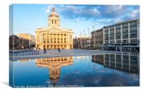 Council House, Nottingham, England, Canvas Print