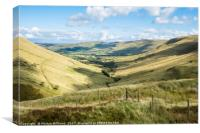 Vale Of Edale, Canvas Print