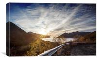 Norway Sunset, Canvas Print