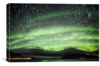 Norway Star Trails, Canvas Print