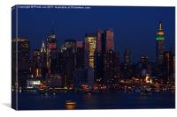 New York City Night, Canvas Print