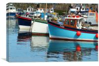 Mevagissey Harbour, Cornwall, Canvas Print
