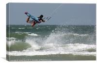 Kite Surfer 2, Canvas Print