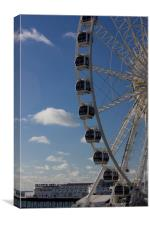 The Brighton Wheel 2, Canvas Print