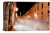 Ghost Streets, Canvas Print