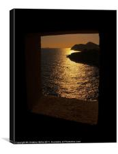 Golden View, Canvas Print