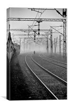 Tracks, Canvas Print