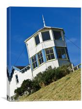 Old Lifeboat Station, Canvas Print