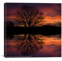 Dawn Greeting, Canvas Print