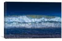 Blue Surf, Canvas Print
