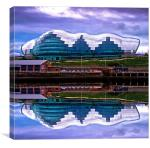 The Sage Gateshead, Canvas Print