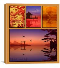 Oriental Emotions, Canvas Print