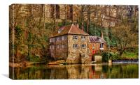 The Old Mill, Canvas Print
