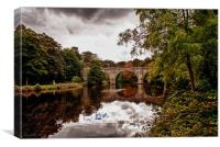 Prebends Bridge, Durham, Canvas Print