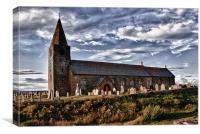 St Bartholomews Church: Newbiggin, Canvas Print