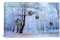 Have a Magical Christmas, Canvas Print