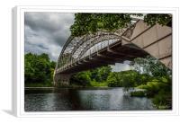 Haggs Bank Bridge, Canvas Print