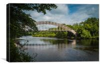 Points Bridge, Canvas Print