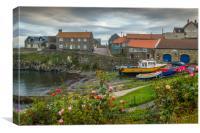 Craster Harbour, Canvas Print