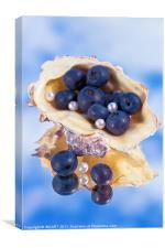 Natural Pearls, Canvas Print